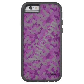 HAMbWG  Xtreme Phone Case -  Pink Gray Camouflage