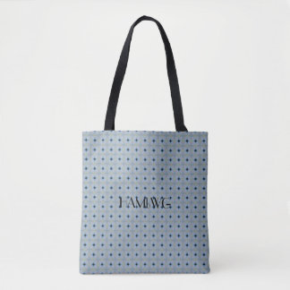 HAMbWG - Zipper Tote - |Ultra Peri Black Diamond