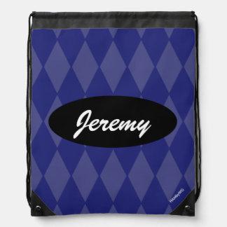 HAMbyWG - Any Color  Argyle Drawstring Bag