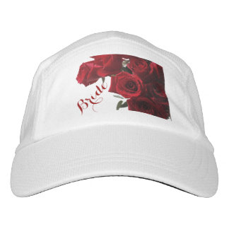 HAMbyWG - Baseball Cap - Bride w/ Red Roses