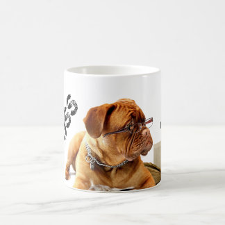 HAMbyWG - BOSS Coffee Mug - Bulldog w/Glasses