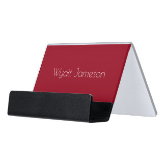 HAMbyWG Business Card Holder - Red