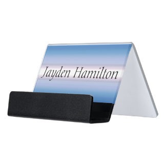 HAMbyWG Business Card Holder - Red White & Blue