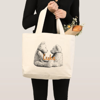 HAMbyWG - Canvas Tote Bag - Teddy Bears