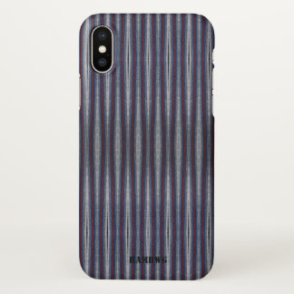HAMbyWG  Cell Phone Case - Gray Maroon Blue