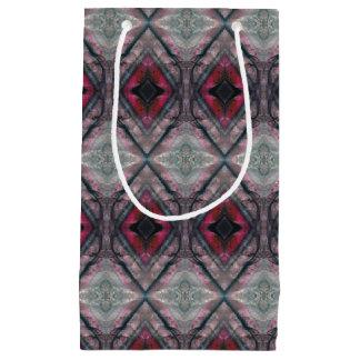 HAMbyWG - Cherry Grey Hearts & Diamonds Small Gift Bag