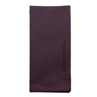 HAMbyWG - Cloth Napkins (4) -Amethyst Bamboo