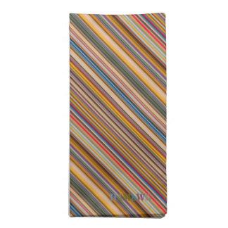 HAMbyWG - Cloth Napkins (4) - Colorful Bars