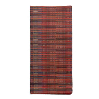 HAMbyWG - Cloth Napkins (4) - Red Fine Thread Look