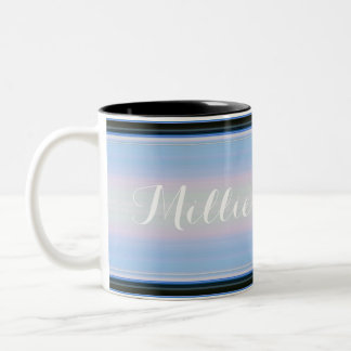 HAMbyWG - Coffee Mug - Blue/Black Gradient w Name