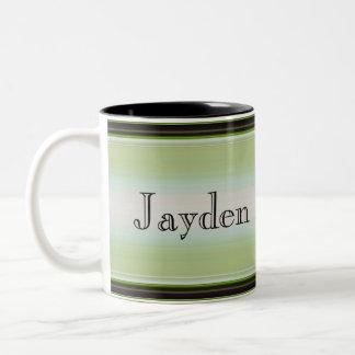 HAMbyWG - Coffee Mug - Green & Black Gradient