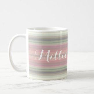 HAMbyWG - Coffee Mug - Pink Gradient w Name