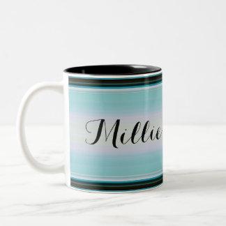 HAMbyWG - Coffee Mug - Teal/Black Gradient w Name