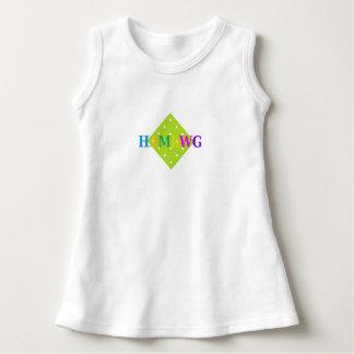 HAMbyWG - Colorful Logo on Polka Dot Dress