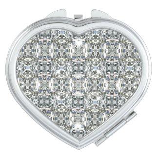 HAMbyWG - Compact Mirror - Diamond Pattern Image