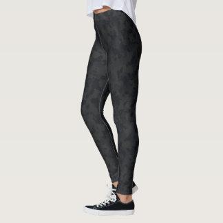 HAMbyWG - Compression Leggings - Black Camoflage
