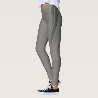 HAMbyWG - Compression Leggings - Gray & Gray
