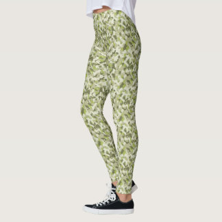 HAMbyWG - Compression Leggings - Green Camoflage