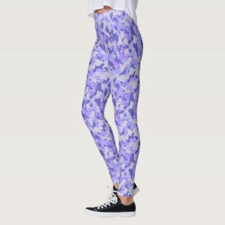 HAMbyWG - Compression Leggings - Purple Camoflage