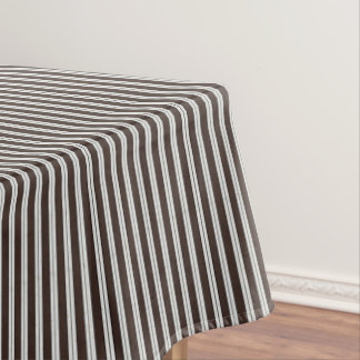 "HAMbyWG - Cotton Tablecloth, 52""x70"" - Brwn/Cotton Tablecloth"