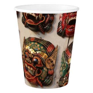 HAMbyWG - Custom Paper Cup - Crazy Masks