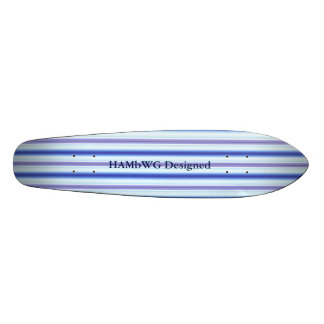 HAMbyWG Designed - Saketeboard - Lightning Stripe Skateboards