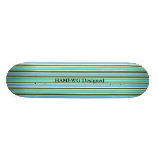 HAMbyWG Designed - Skateboard - Ocean Floor