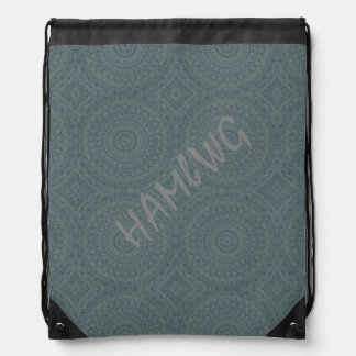 HAMbyWG Drawstring Backpack - Heather  Bohemian