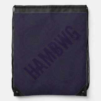 HAMbyWG Drawstring Backpack - Midnight Bohemian