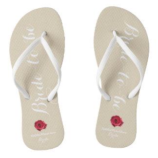 HAMbyWG - Flip-Flop - Bride-to-be Thongs