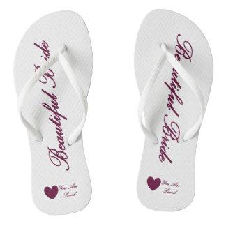 HAMbyWG - Flip-Flops - Beautiful Bride Thongs