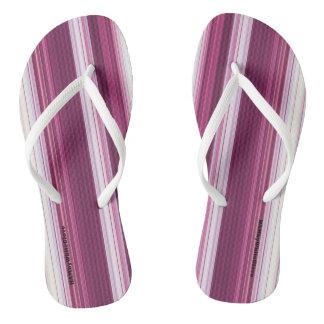 HAMbyWG - Flip-Flops  - Cherry White Gradient Thongs