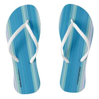 HAMbyWG - Flip-Flops  Light Blue White Thongs