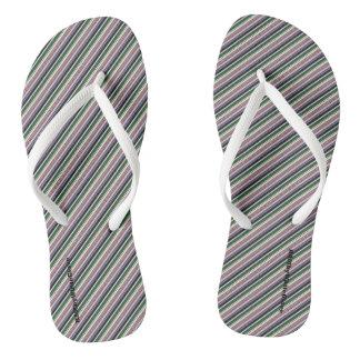 HAMbyWG - Flip-Flops - Mixed Stripes Aston Thongs