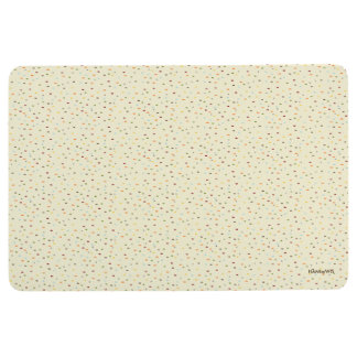 HAMbyWG - Floor Mat - Multi Colored Speckles