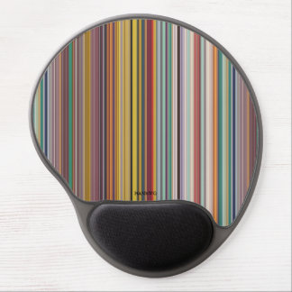 HAMbyWG - Gel Mouse - Clay Stripes Gel Mouse Pad