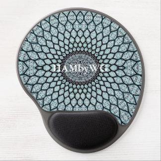 HAMbyWG - Gel Mouse Pad - Aqua India Ink