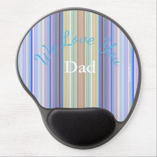 HAMbyWG - Gel Mouse Pad - Crystal Stripe