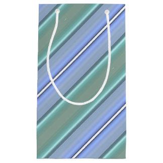 HAMbyWG Gift Bag - Light Blue & Mint Stripe