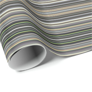 HAMbyWG - Gift Wrap - Diamond Gray Gradient Stripe