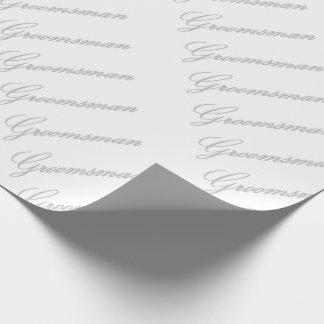 HAMbyWG - Gift Wrap -Groomsman