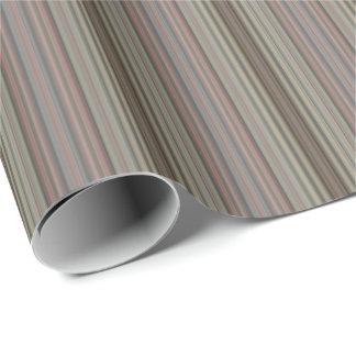 HAMbyWG - Gift Wrap - Vintage Mauve Stripe