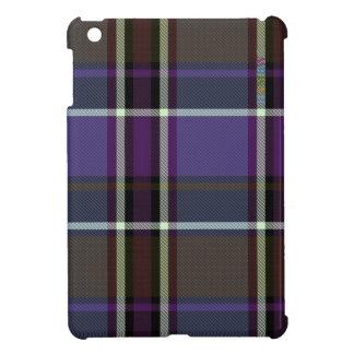 HAMbyWG   Glossy Hard Case - Plaid w Purple iPad Mini Cover