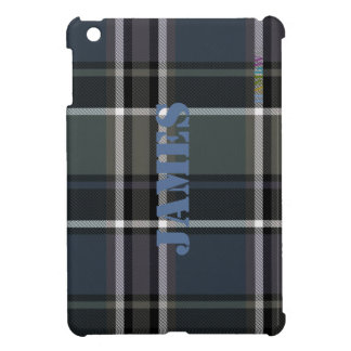HAMbyWG   Glossy Hard Case - Plaid w Sage iPad Mini Case
