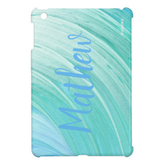 HAMbyWG   Hard Case -  Aqua Swirl iPad Mini Cover