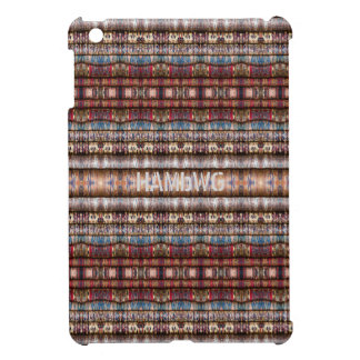 HAMbyWG -Hard Case Colorful Threads Image iPad Mini Covers
