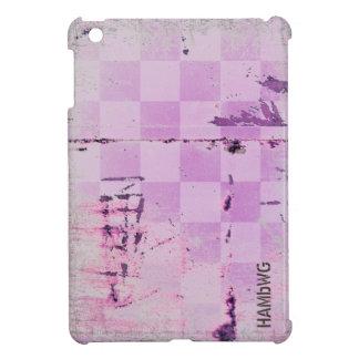 HAMbyWG -Hard Case - Distressed Lilac Cover For The iPad Mini