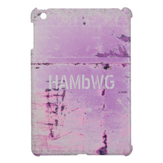 HAMbyWG -Hard Case - Distressed Lilac iPad Mini Cover