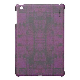 HAMbyWG   Hard Case -  Distressed Purple Cover For The iPad Mini