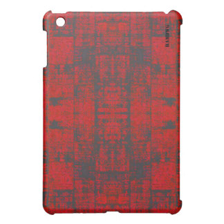 HAMbyWG   Hard Case -  Distressed Red Case For The iPad Mini